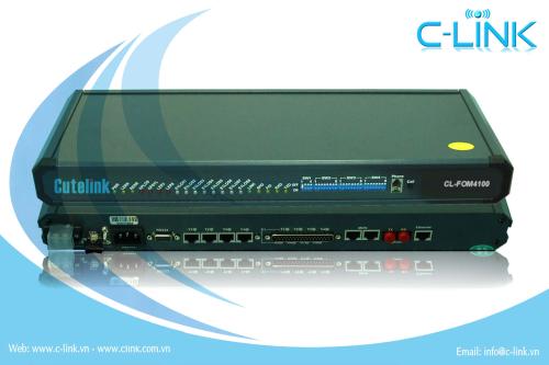 4/8/16E1 + Ethernet + RS232 PDH Multiplexer C-LINK Phân Phối