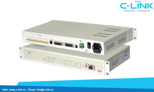 Bộ Tách Ghép Kênh – PCM Multiplexer Huahuan (H5001) C-LINK Phân Phối