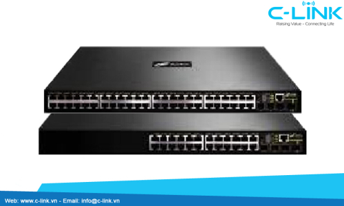 Dual Stack 10G Routing Switch DCN (DCRS-5960) C-LINK Phân Phối
