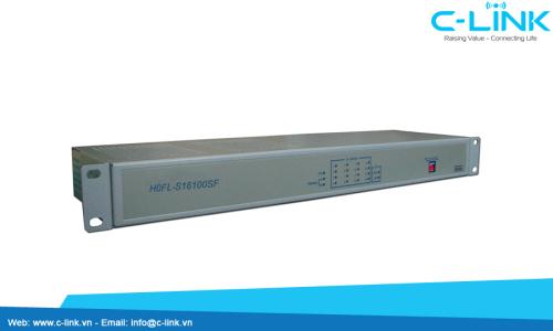 Ethernet Over 16E1 Converter Huahuan (H0FL-S16100SF/SN) C-LINK Phân Phối