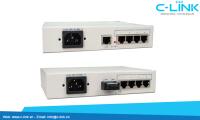Ethernet Over 4 E1 Converter Huahuan (H0FL-04100/ F04100) C-LINK Phân Phối