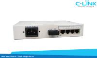 Ethernet Over 8 E1 Converter Huahuan (H0FL-08100/F08100) C-LINK Phân Phối