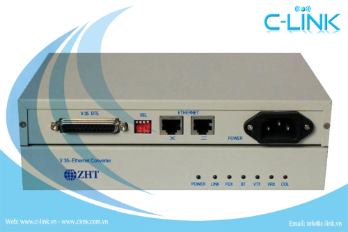Ethernet over V.35 interface converter ZHT (PC-FEV35) C-LINK Phân Phối