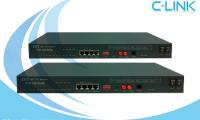 Modem Quang 8E1 + 4FE + RS232 + Console PDH ZHT (FOM-240) C-LINK Phân Phối