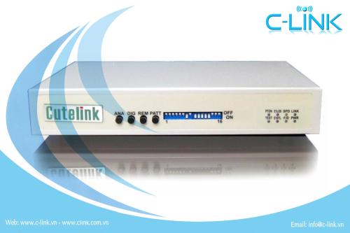 Modem Quang Frame E1 CuteLink (CL-FOM100) C-LINK Phân Phối