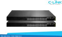 Switch 22 Cổng / 46 Cổng Giga + 4 Cổng Compo DCN (DCS-4500 Serial) C-LINK Phân Phối