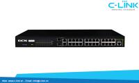 Switch Truy Cập Thông Minh 8 Cổng FE / 24 Cổng FE+ 1 Compo / 2 Compo DCN (DCS-3650 Series) C-LINK Phân Phối