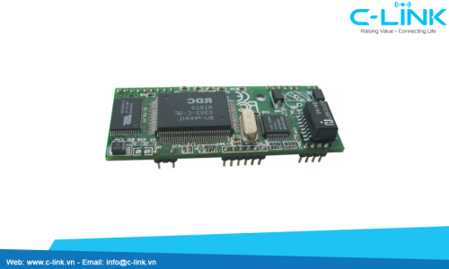10/100M TCP/IP To Serial Ports Internet Bridge Module UTEK (UT-450) C-LINK Phân Phối