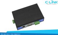 Bộ Chuyển Đổi 4 Cổng RS-232/485/422 Sang Ethernet TCP/IP UTEK (UT-6301) C-LINK Phân Phối