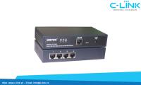Bộ Chuyển Đổi 4 Cổng RS232/485/422 Sang Ethernet TCP/IP UTEK (UT-6604) C-LINK Phân Phối