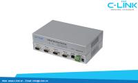 Bộ Chuyển Đổi 4 Cổng RS232 Sang Ethernet TCP/IP UTEK (UT-630) C-LINK Phân Phối