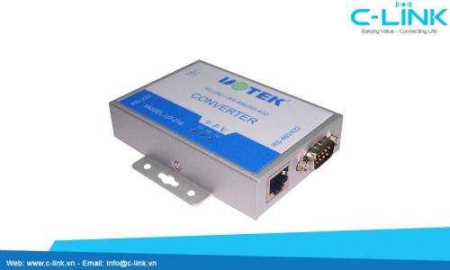 Bộ Chuyển Đổi RS-232 Sang RS-485/RS-422 External-mounted UTEK (UT-216) C-LINK Phân Phối