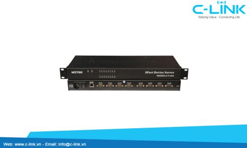 Bộ Chuyển Đổi TCP/IP Sang 8 Cổng RS-232 Network Server UTEK (UT682) C-LINK Phân Phối