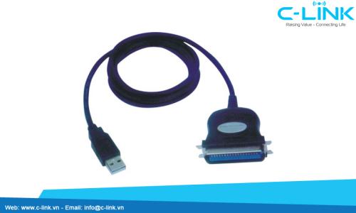 Bộ Chuyển Đổi USB Ra Cổng Parallel Song Song UTEK (UT-830) C-LINK Phân Phối