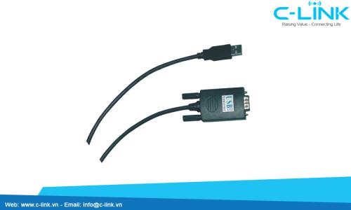 Bộ Chuyển Đổi USB Sang RS232 UTEK (UT-810T) C-LINK Phân Phối