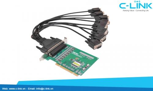 Card PCI Ra 8 Cổng RS232 Công Nghiệp UTEK (UT-768) C-LINK Phân Phối