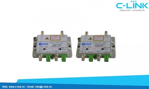 FTTH1021/FTTH1022 Mini Optical Node ZHT (FTTH1021/1022) C-LINK Phân Phối