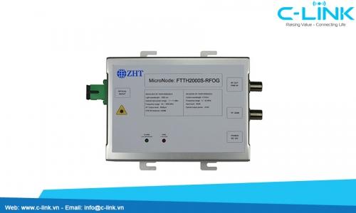 FTTH2000S RFOG Single Fiber Bi-directional Optical Receiver ZHT (FTTH2000S/RFOG) C-LINK Phân Phối