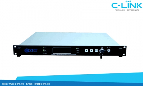 OTE1500 1550nm External Modulation Optical Transmitter ZHT (OTE1500)  C-LINK Phân Phối