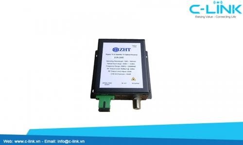 SOR-2600, CATV+Satellite Optical Receiver, 45~2600MHz ZHT (SOR-2600) C-LINK Phân Phối