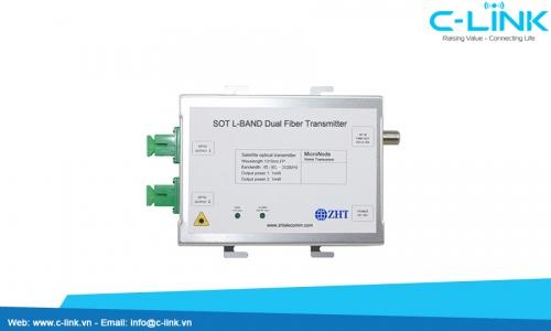 SOT L-BAND Dual Fiber Transmitter ZHT (SOT L-BAND) C-LINK Phân Phối