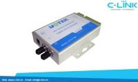 Bộ Chuyển Đổi RS-232/422/485 Sang Quang Multi-Mode 2KM UTEK (UT-277MM)C-LINK Phân Phối