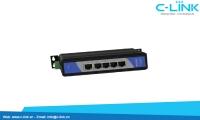 Switch công nghiệp Unmanaged 5 cổng 10/100M UT-6405 C-LINK Phân Phối