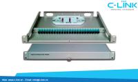 Giá Phối Quang ODF Rack 19 Inch 24 Core C-LINK Phân Phối