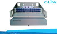 Giá phối quang ODF Rack 19 inch 48 core C-LINK Phân Phối