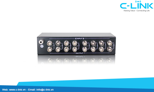 Equipment for 8 Channels Video Lightning (VSP208V) by C-LINK