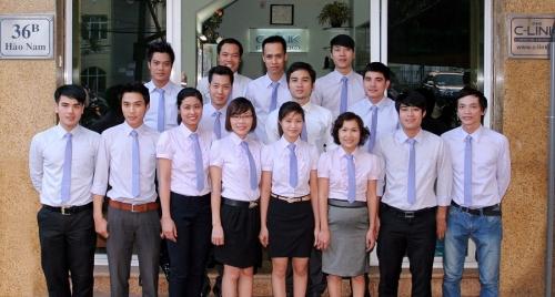 Cán bộ nhân viên Công ty C-LINK.,JSC