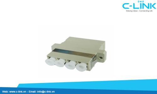 LC-MM-Quad-Flangeless-Adaptor-2-fuben