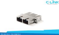 SC_Fiber_Optic_Adapter_Duplex_Metal