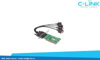 Card PCI Ra 4 Cổng RS232 UTEK (UT-764) C-LINK Phân Phối