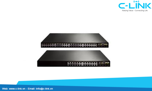 DCRS-5980 Dual Stack 10G Ethernet Routing Switch DCN (DCRS-5980) C-LINK Phân Phối